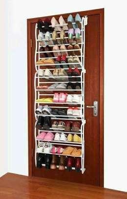 Over door shoe rack image 1