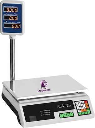 Acs 30 30kg Digital Weighing Scale image 1