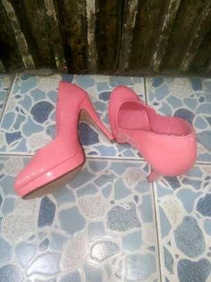 Hot Pink Double Sole Heel image 1
