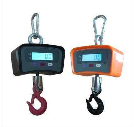 500Kg Portable Digital Hanging Scale image 1