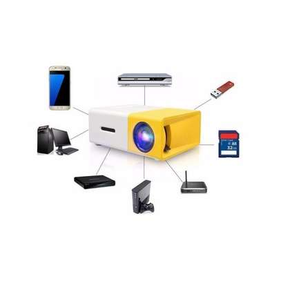 LED Home Mini Projector image 1