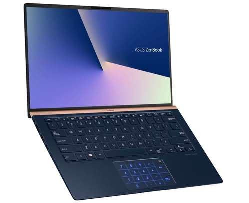 ASUS ZenBook 14 UX434F-A1237T Laptop Core i7 10th Gen 8GB RAM 512SSD +32GB Intel Optane 14 Inches Display image 1