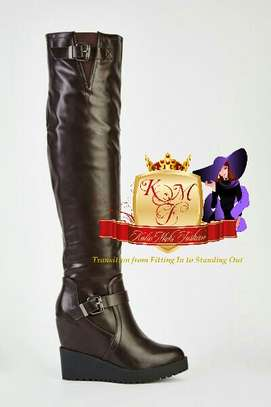 Knee Length Boots Made in U.K image 2