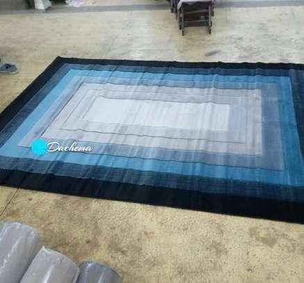 5*8 blue Turkey viva carpet image 1