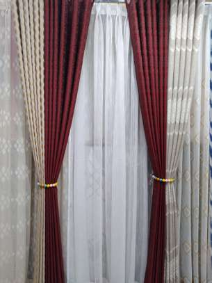 Curtain and curtain sheers image 1