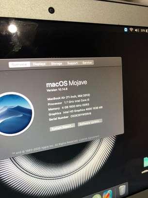 MacBook Air mid 2012 image 4
