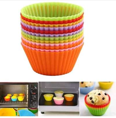 Silicone cupcakes mould image 1