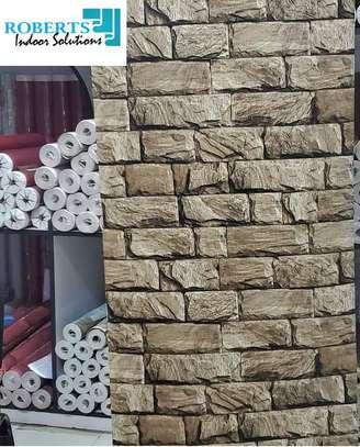 brown bricks wallpaper image 1