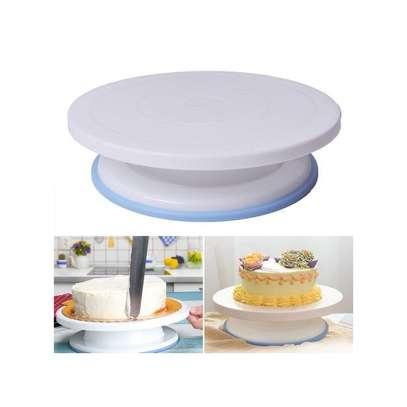206 Pcs Turntable Cake Decorating Tip Nozzle Pastry Bag Set image 1