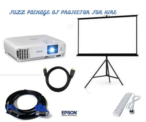 FULL PACKAGE OF PROJECTOR FOR HIRE image 1
