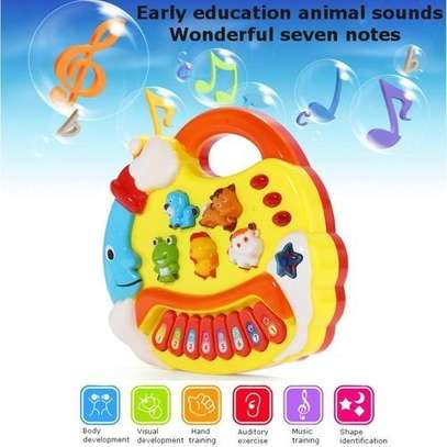 Kids Musical Educational Animal Farm Piano Developmental Music Toy Gift image 1