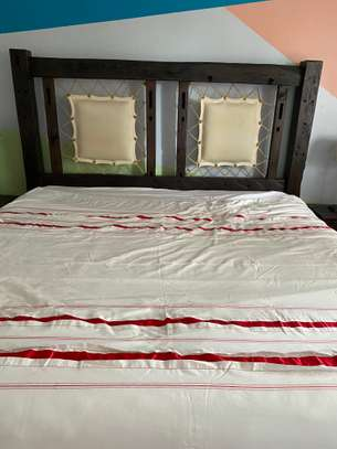 Wooden King Size Bed Swahili Style