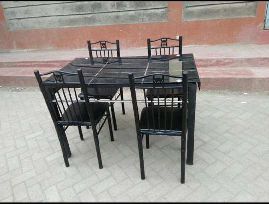 Dining table four chairs on year end offer fo image 1