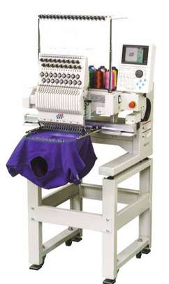 Multifunctional One Head Embroidery Machine image 1