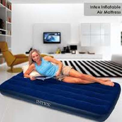 Intex Inflatable AirBed Mattress With A Free Pump image 2
