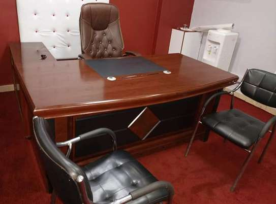 Executive impoted office desk image 2
