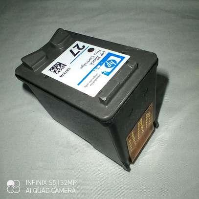 27 inkjet cartridge C8727A black only image 9