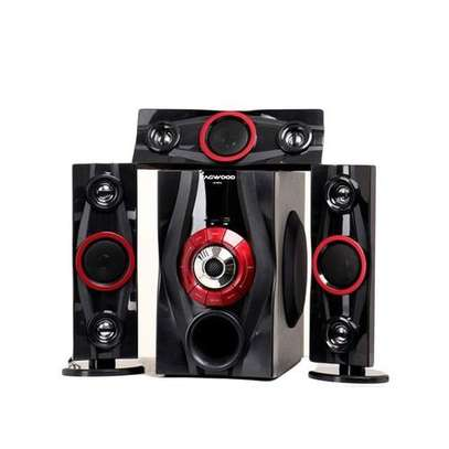 TAGWOOD LS-631A Multimedia Speaker System 3.1CH Black image 1