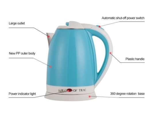 Electric kettle- Berhoffer BH - Blue image 2