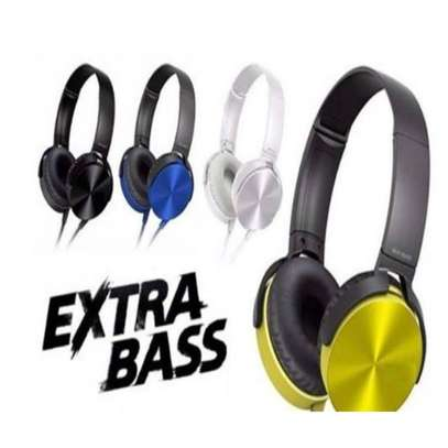 Extra Bass Wired Head Phones image 1