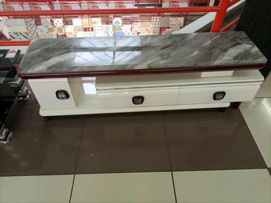 Pure marble tv stand image 1