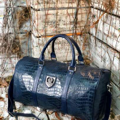 ITEM: *_Leather Duffle Bags._*???? image 7