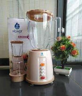Nunix AK-100, 2 In 1 Blender With Grinding Machine, 1.5L image 2