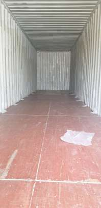 40ft Empty cargo containers for sale image 4