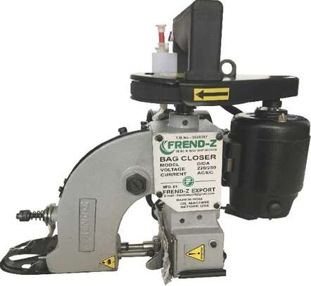 Special Bag Closer Machine with Oil Pump image 1