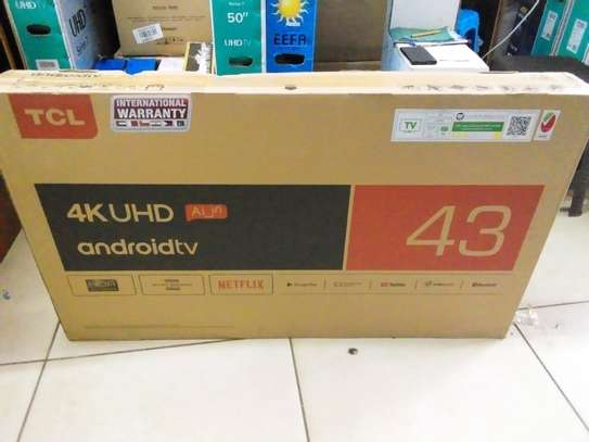 """Tcl 43"""" smart Android led 4k tv image 1"""