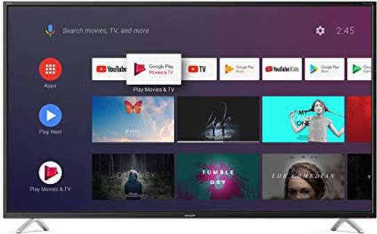 Tcl 55 inch smart Android tv image 1