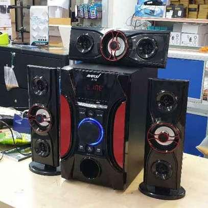Ampex A18 3.1 Channel 12000 Watts Multimedia Speaker System-Black image 1