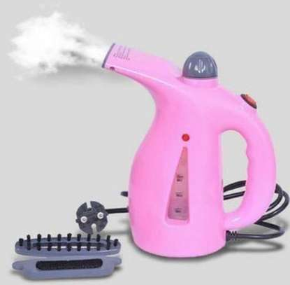 Electric Garment Steamer Brush for Ironing Portable Multifunction Pots/Facial Steamer image 1