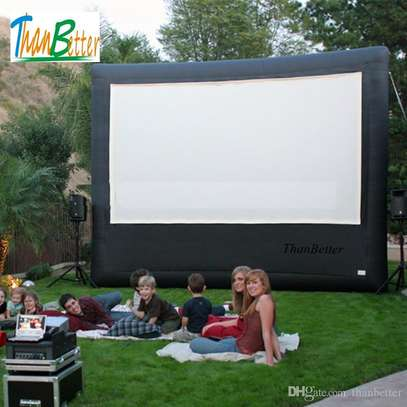 Rear Projection Screens For Hire