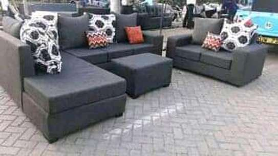 Sofa set made by hand wood and good quality material image 8