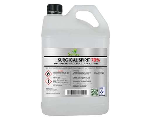 Surgical Spirit 70% - 5L - Sentry Chemicals Enterprises image 1