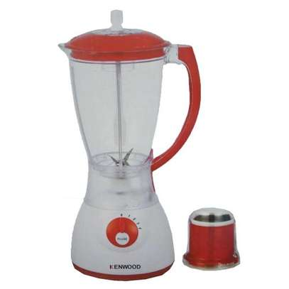 Blender with Grinder 1.5L White and Red image 1