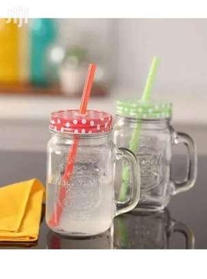 Mason Juice Smoothie Drink Kid Child Adult Home Party Mug image 3