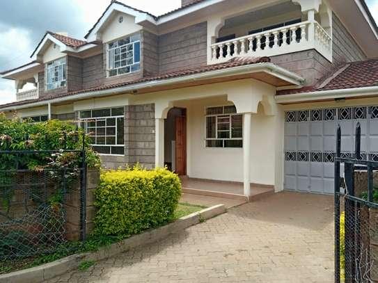 4 bedroom townhouse for rent in Karen image 1