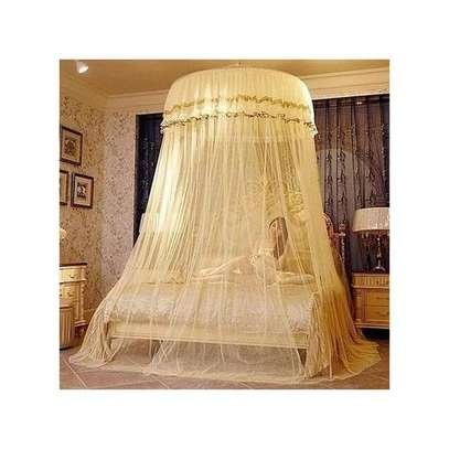 4*6 Round Mosquito Nets - Cream image 1