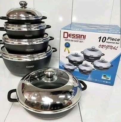 Dessini 10 pcs set cookwares image 1