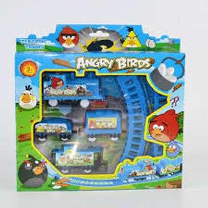 Electronic toy train image 1