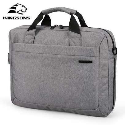 "Kingsons Laptop Handbag 13.3"" Grey image 1"