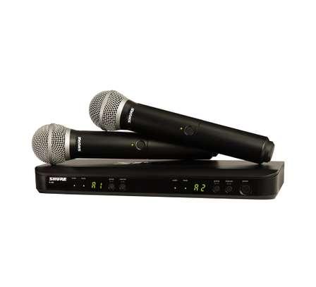 BLX288/PG58 Wireless Dual Handheld Microphones image 1