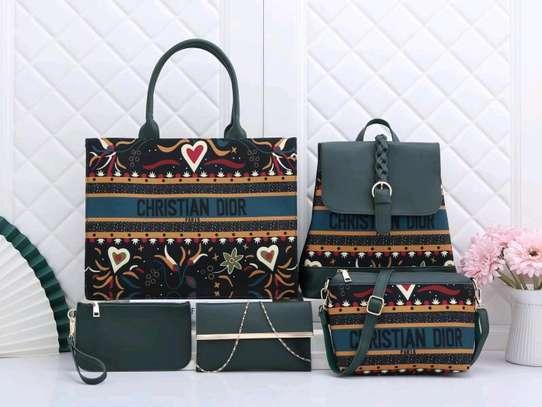 Fancy 5 in 1 Ladies Handbags image 1