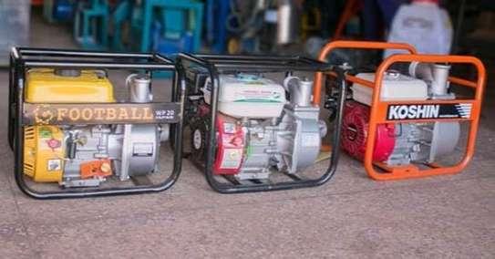 Gasoline water pump image 1