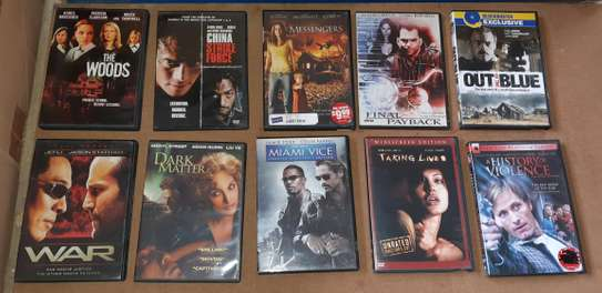ORIGINAL USED DVDS MOVIES AND VHS MOVIES CASSETTES. image 3