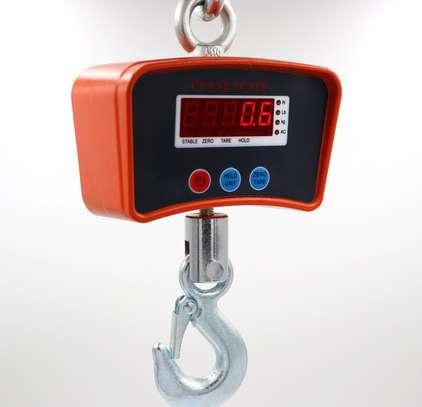 500kg Industrial Crane Aluminum Digital Crane Scale. image 1