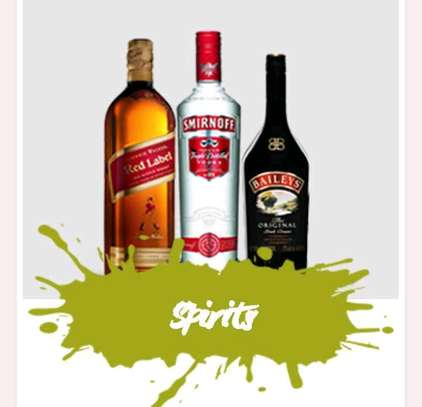 Red label,smirnoff and barley's image 1