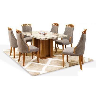 Quinnel Ultra Deluxe Dining Table 6 Or 8 Seater image 1